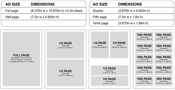 Rate Cards For Magazines Magazine Rate Card
